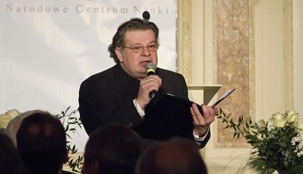 Krzysztof Globisz podczas imprezy otwarcia Narodowego Centrum Nauki w Krakowie, fot. M. Lasyk /Reporter