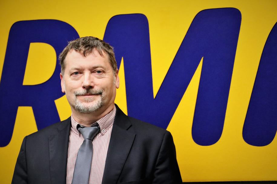 Krzysztof Grzesik, dyrektor Wojewódzkiego Szpitala Chorób Płuc i Rehabilitacji w Jaroszowcu. /Jacek Skóra /RMF FM