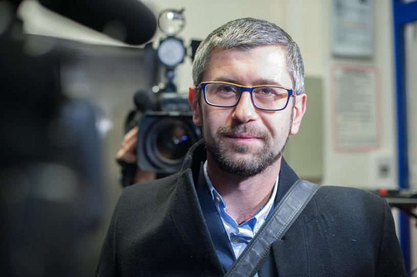 Krzysztof Hałabuz, prezes porozumienia chirurgów /Grzegorz Krzyzewski /Reporter