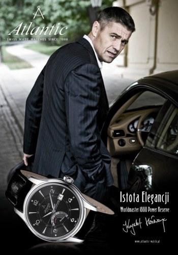 Krzysztof Hołowczyc jest ambasadorem marki Atlantic /materiały prasowe