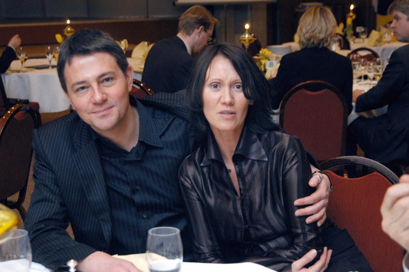 Krzysztof i Anna w 2005 roku /Prończyk /AKPA