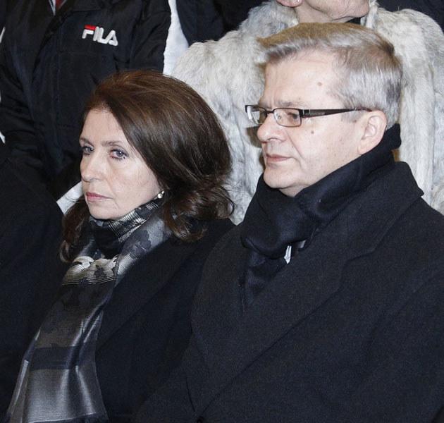 Krzysztof i Małgorzata Gospodarkowie zapowiadają walkę o spadek po Villas.  /Engelbrecht /AKPA