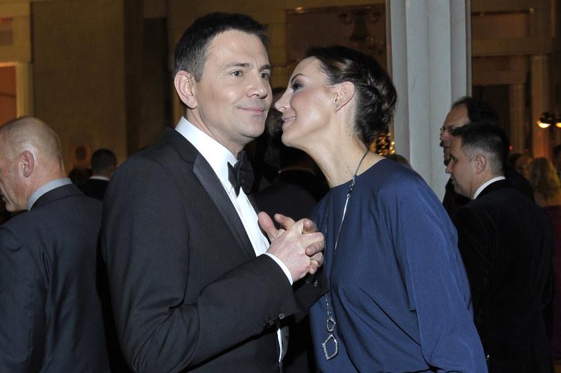 Krzysztof Ibisz i jego była żona Anna Zejdler /Niemiec /AKPA