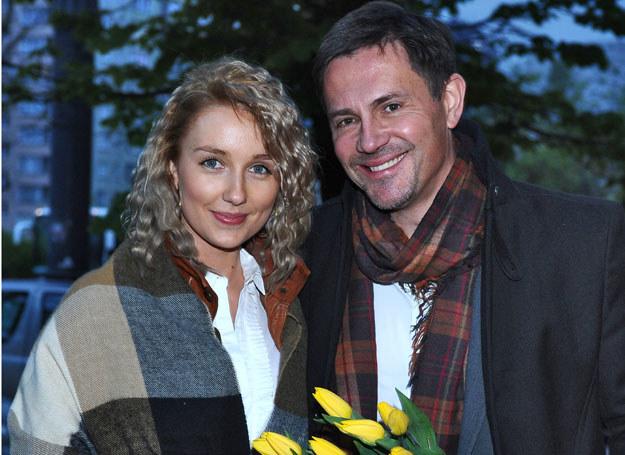 Krzysztof Ibisz i Paulina Pisiok  /fot. A. Szilagyi /MWMedia