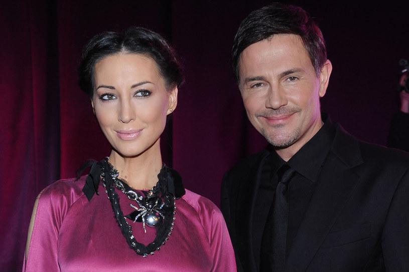 Krzysztof Ibisz z byłą żoną, Anną Zajdler /Andras Szilagyi /MWMedia
