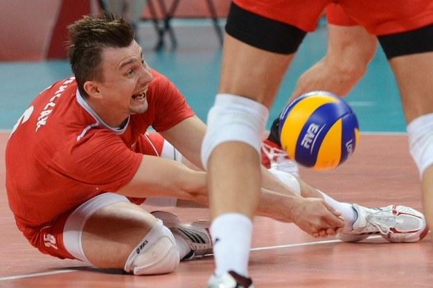 Krzysztof Ignaczak w akcji /AFP