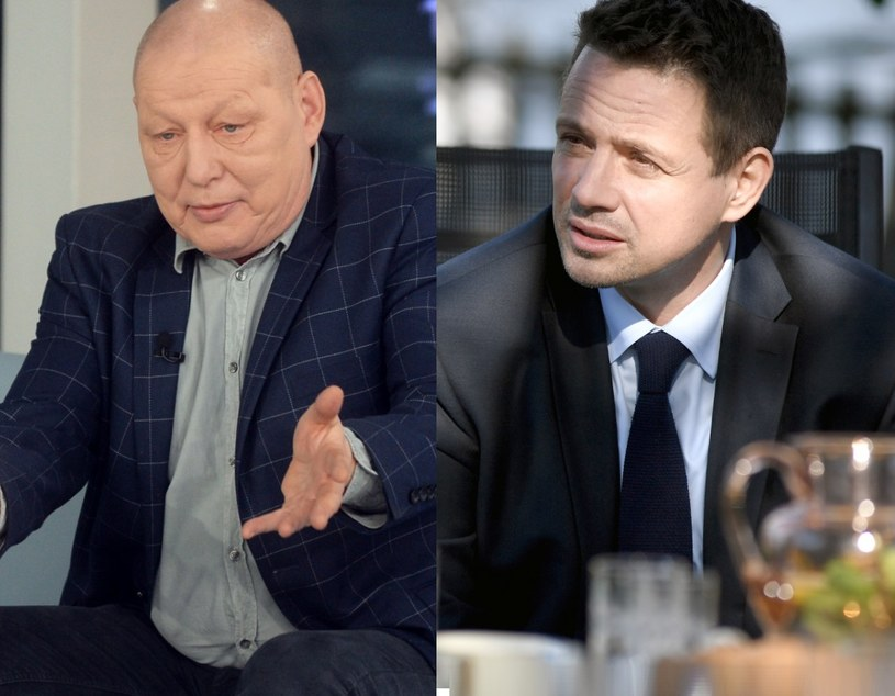 Krzysztof Jackowski i Rafał Trzaskowski /EastNews /East News