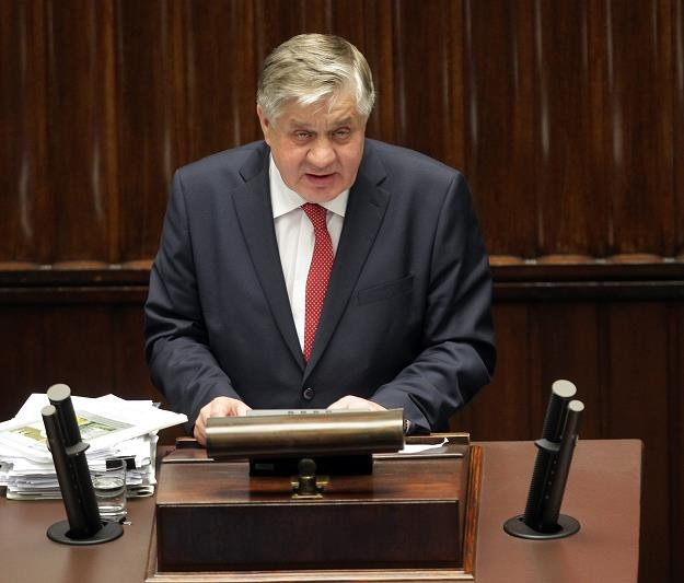 Krzysztof Jurgiel, minister rolncitwa. Fot. Przemysław Wierzchowski /AGENCJA GAZETA
