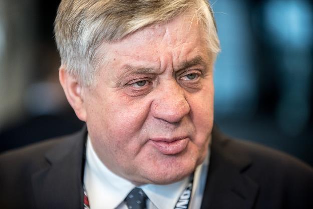 Krzysztof Jurgiel, minister rolnictwa. Fot. Łukasz Piecyk REPORTER /Reporter