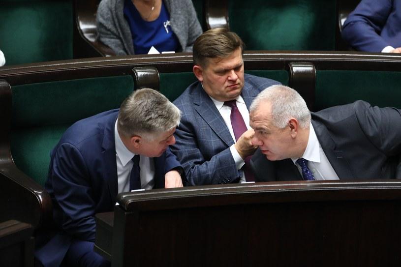 Krzysztof Jurgiel, Wojciech Skurkiewicz i Jacek Sasin /Stanisław Kowalczuk /East News