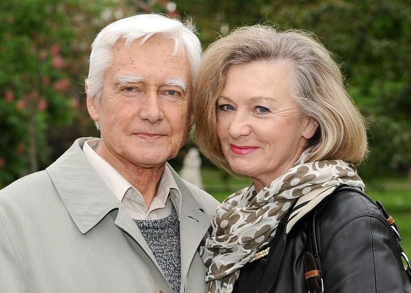 Krzysztof Kalczyński i Halina Rowicka /AIM