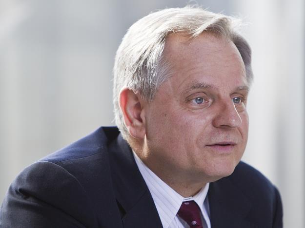 Krzysztof Kalicki, prezes Deutche Bank Polska. Fot. Andrzej Stawiński /Reporter