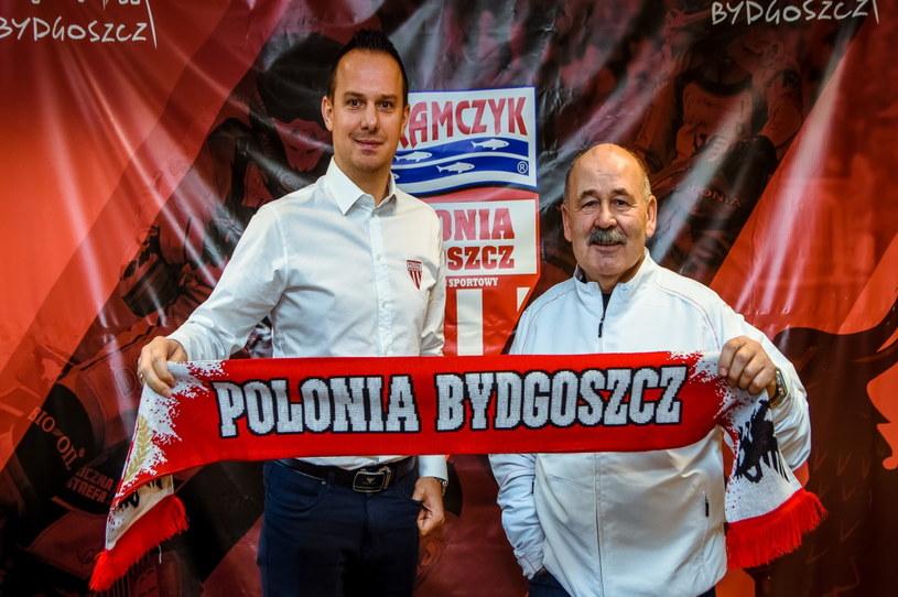 Krzysztof Kanclerz i Lech Kędziora /Polonia Bydgoszcz /materiały prasowe