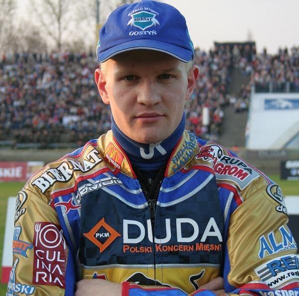 Krzysztof Kasprzak nie jest zadowolony ze swojego występu w GP Europy /Krzysztof Dudziak