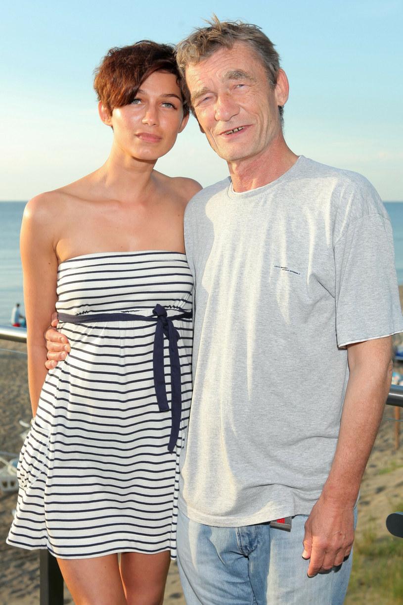 Krzysztof Kiersznowski był starszy od swojej partnerki aż o 33 lata /VIPHOTO /East News