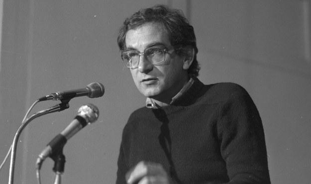 Krzysztof Kieślowski /Witold Rozmysłowicz   /PAP