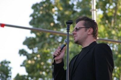 Krzysztof Kiljański na rewalskiej scenie /INTERIA.PL