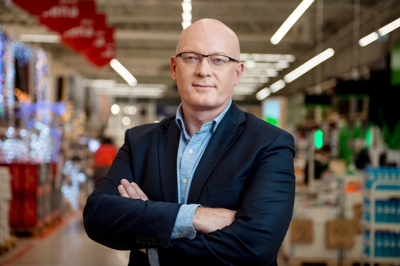 Krzysztof Kordulewski, prezes Leroy Merlin Polska. /materiały prasowe
