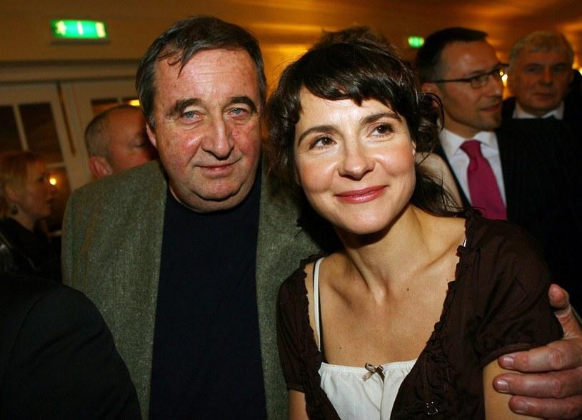 Krzysztof Kowalewski i Agnieszka Suchora w 2007 roku /Piotr Fotek/REPORTER /East News