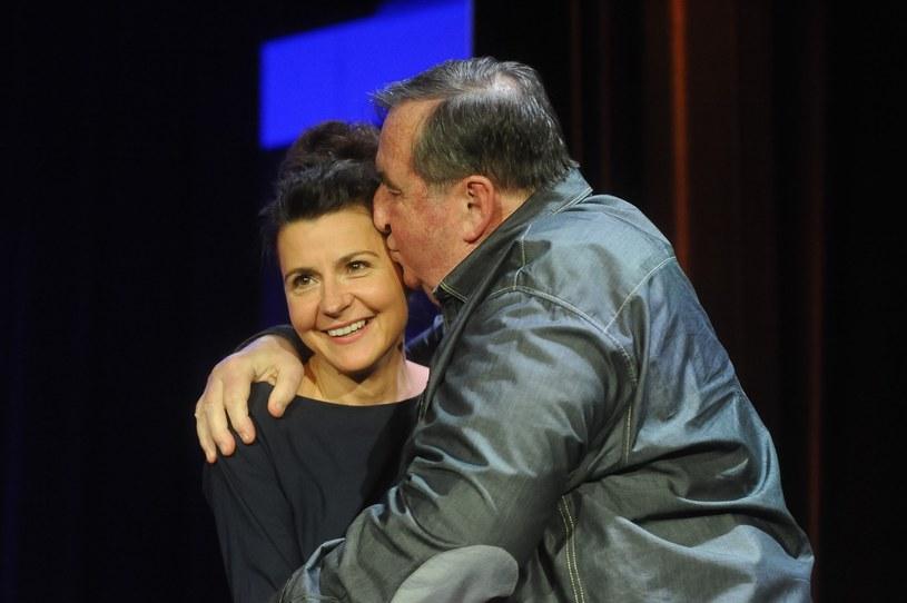 Krzysztof Kowalewski i Agnieszka Suchora w 2012 roku /Tomasz Urbanek /East News