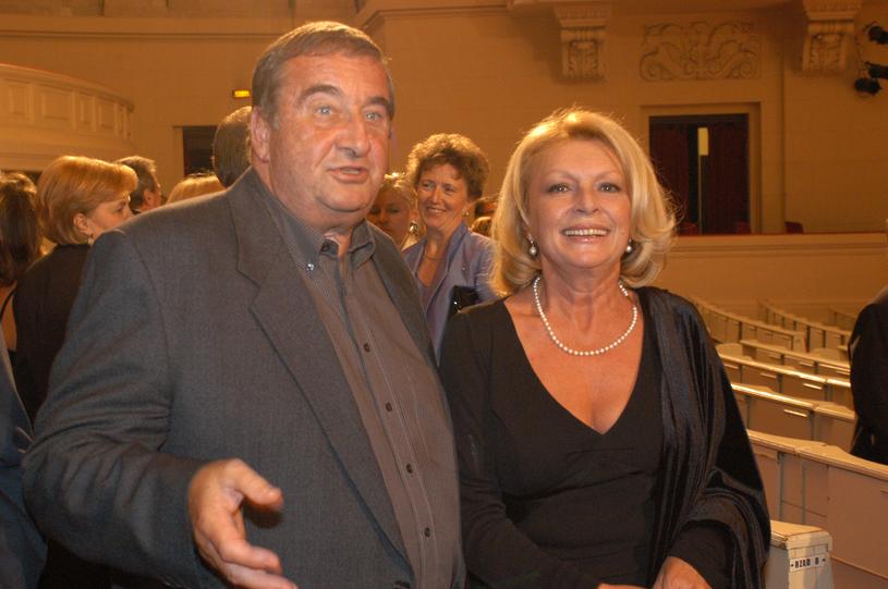 Krzysztof Kowalewski i Ewa Wiśniewska, 2003 rok /Niemiec /AKPA