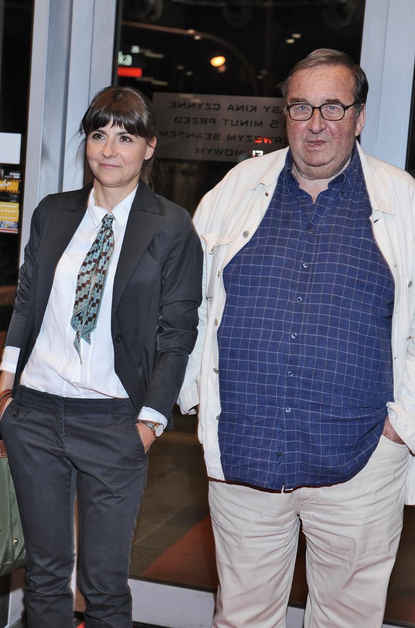 Krzysztof Kowalewski z żoną w 2011 roku /VIPHOTO /East News