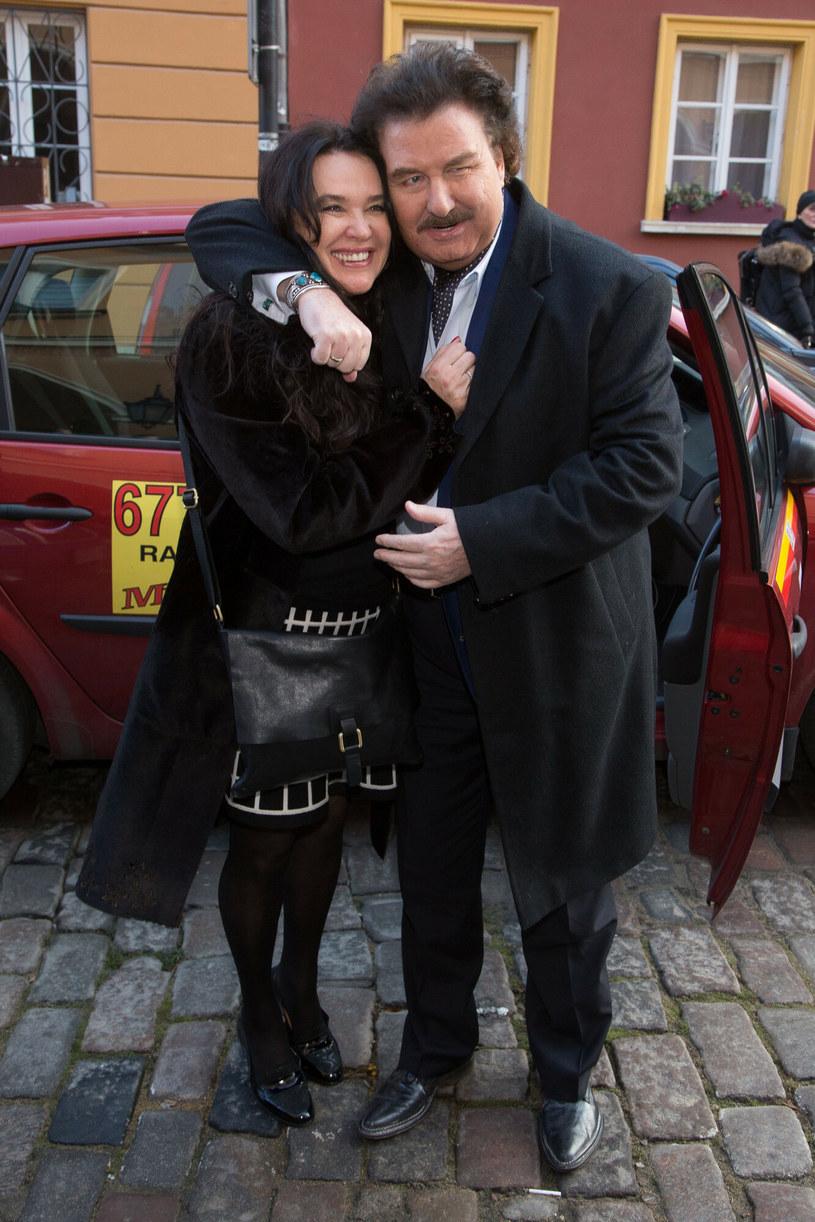 Krzysztof Krawczyk i Ewa Krawczyk /Tomasz Zukowski /East News