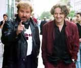 Krzysztof Krawczyk i Goran Bregovic /