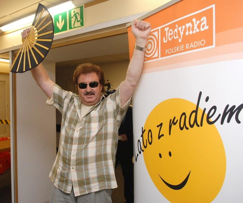 """Krzysztof Krawczyk jest jednym z artystów, który wielokrotnie występował na koncertach """"Lata z radiem"""" /Tricolors /East News"""