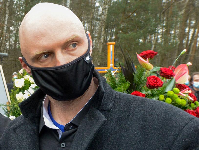 Krzysztof Krawczyk Junior i ukrywa rozżalenia /Tadeusz Wypych /East News