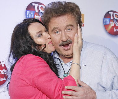 Krzysztof Krawczyk w duecie z żoną. Nieznane nagranie trafiło do sieci