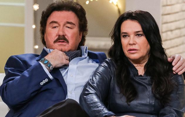 Krzysztof Krawczyk z żoną Ewą /Tomasz Adamowicz /Agencja FORUM