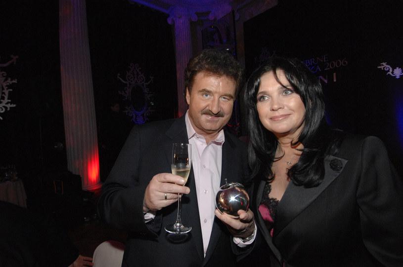 Krzysztof Krawczyk z żoną Ewą /AKPA