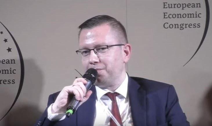 Krzysztof Kubów, pełnomocnik ds. gospodarki wodorowej i szef gabinetu prezesa Rady Ministrów /INTERIA.PL