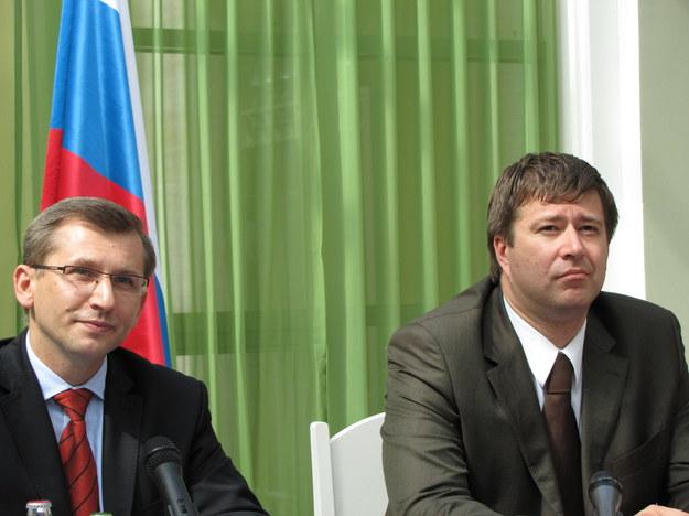 Krzysztof Kwiatkowski i Aleksandr Konowałow  /Przemysław Marzec /RMF FM