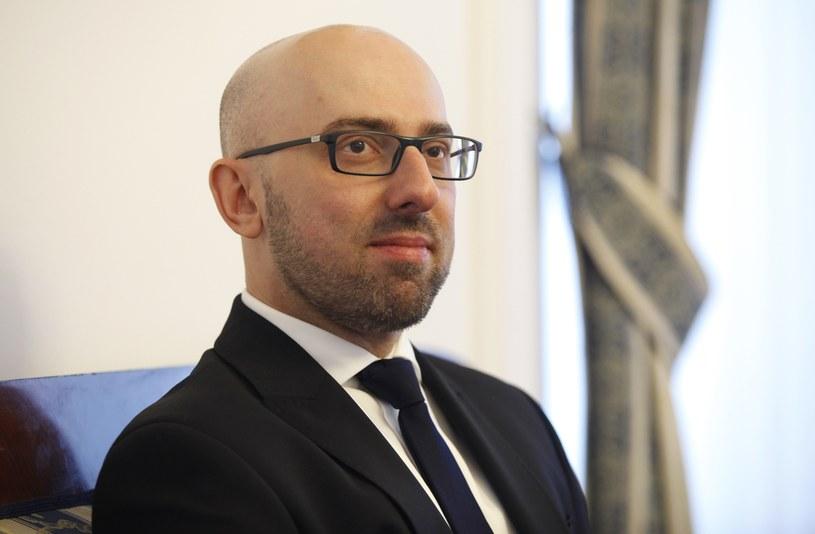 Krzysztof Łapiński /STEFAN MASZEWSKI/REPORTER /East News