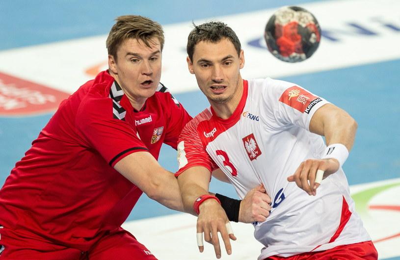 Krzysztof Lijewski (z prawej) kontra Czech Jan Landa /Maciej Kulczyński /PAP
