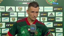 Krzysztof Mączyński: Współpraca z Jackiem Magierą układa się świetnie - ja jestem podstawowym zawodnikiem, a on ma wyniki (POLSAT SPORT) Wideo