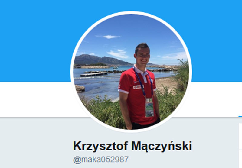 Krzysztof Mączyński z nowym loginem na Twitterze /