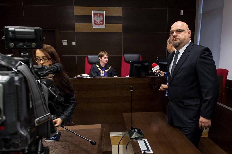 Krzysztof Madej w sądzie /Maciej Kulczyński /PAP