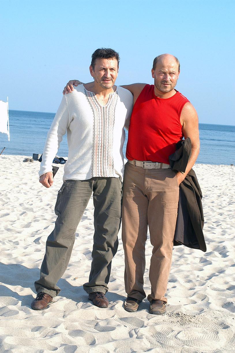 """Krzysztof Majchrzak i Jan Jakub Kolski znów będą współpracować. W 2003 roku zrealizowali wspólnie """"Pornografię"""" /Mikulski /AKPA"""