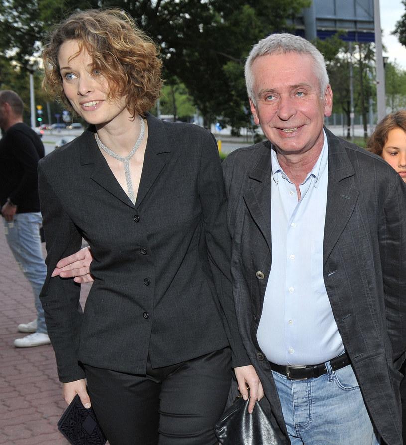 Krzysztof Materna z żoną /Jarosław Antoniak /MWMedia