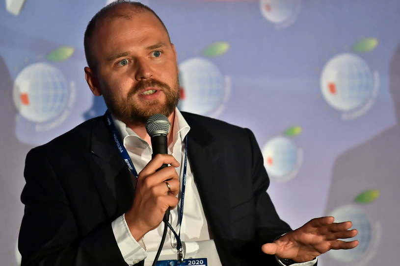 Krzysztof Mazur, wiceminister rozwoju / Maciej Kulczyński    /PAP