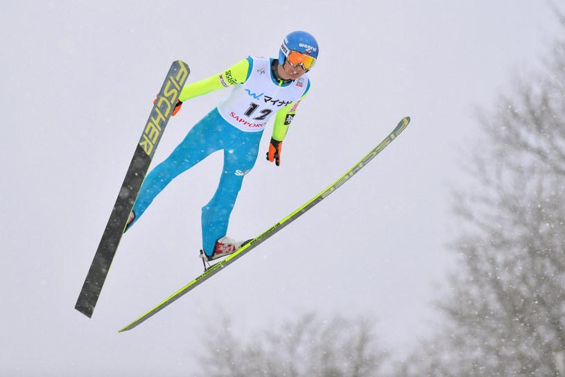 Krzysztof Miętus najlepszy z Polaków /AFP