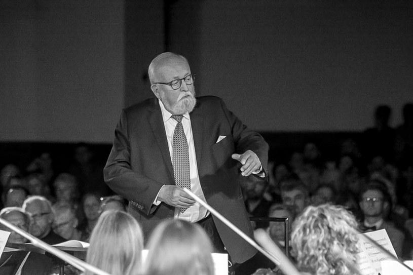 Krzysztof Penderecki zmarł w wieku 86 lat /Maciek Jonek /Reporter