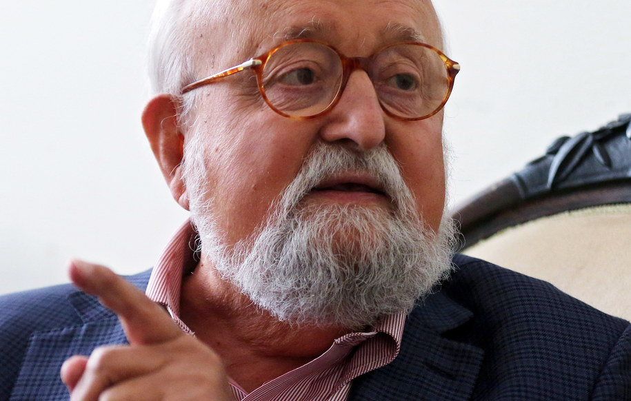 Krzysztof Penderecki /ELONARDO MUNOZ /PAP/EPA