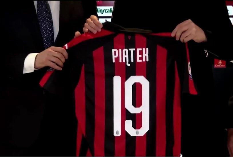 Krzysztof Piątek będzie grał w Milanie z numerem 19 /