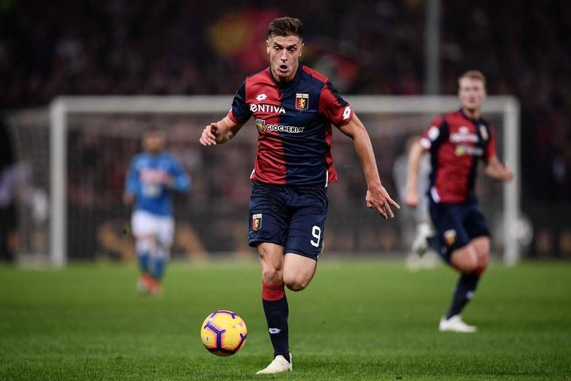 Krzysztof Piątek miał chwilowy zastój, ale dalej rozpędza się w Serie A /AFP