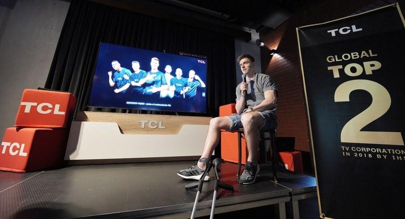 Krzysztof Piątek na spotkaniu marki TCL fot.: K. Patrycy (Foto-Kurier) /Interia.pl /INTERIA.PL