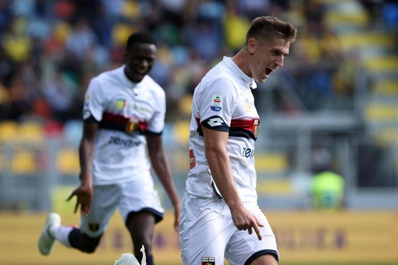 Krzysztof Piątek strzela gola za golem w Serie A /PAP/EPA